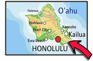 Hawaii PCC Map